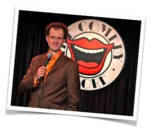 Rainer's comedy gig